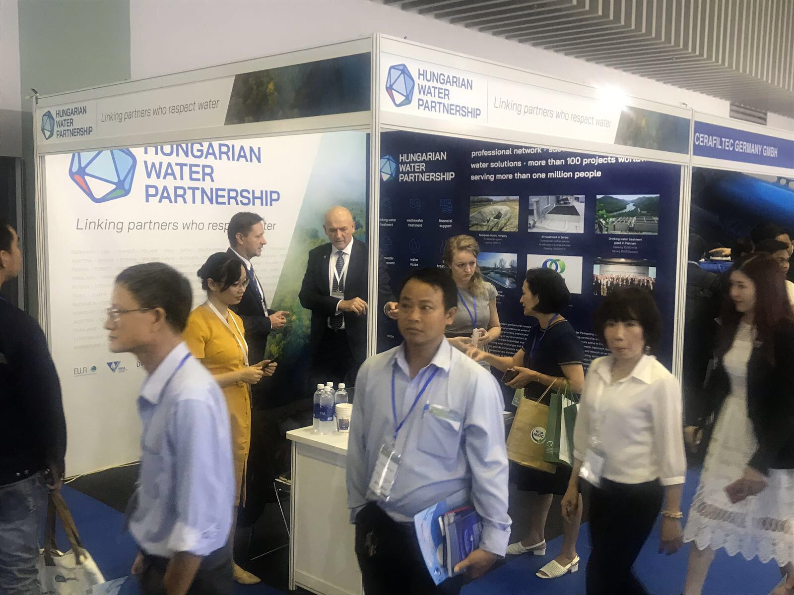 Hungarian Water Partnership at Vietwater